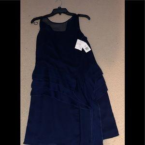 Dresses & Skirts - NWT Jessica Simpson knee length dark blue dress
